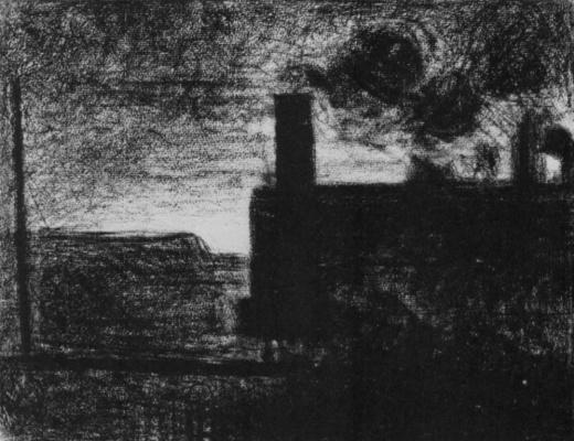 Georges Seurat. Locomotive