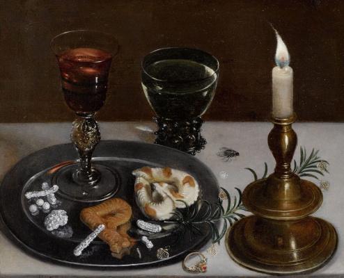 Clara Peeters. Allegory of the wedding