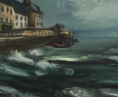 Maurice de Vlaminck. Marina (Havre)