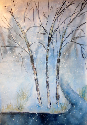 Julia Sergeevna Bochkareva. Winter