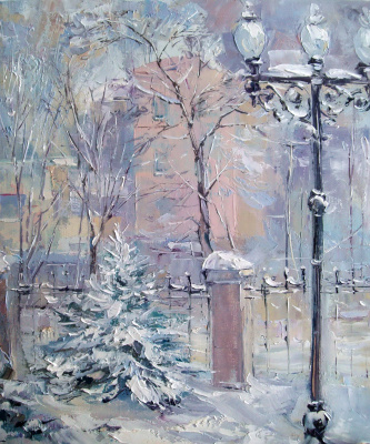 Константин Леонидович Антипов. Fresh snow