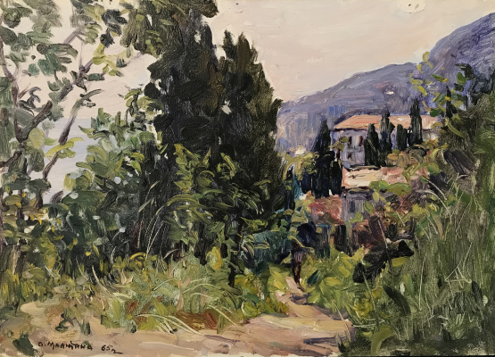 Olga Sergeevna Malyutina. Landscape