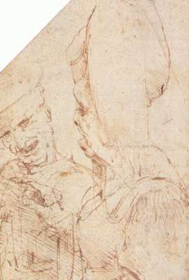 Leonardo da Vinci. Matched pair