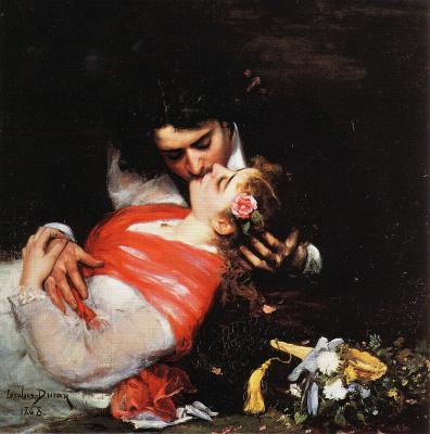 Carolus-Durand. Kiss