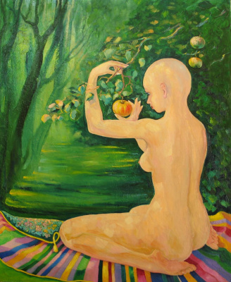 Valentin Nikolaevich Sudnitsyn. Apple for indigo
