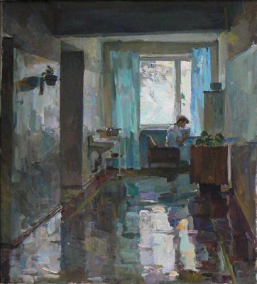 Arkady Ivanovich Vychugzhanin. Hospital corridor