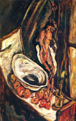 Chaim Soutine. Still life with pheasant