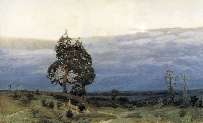 Apollinarius Mikhailovich Vasnetsov. Dusk