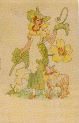 Walter Crane. Flower