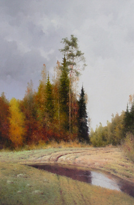 Vasily Ivanovich Gribennikov. Forest Road