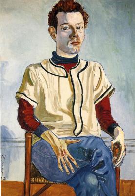 Алиса Нил. Портрет молодого человека