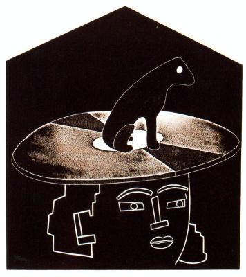 Эдуардо Арройо. Черная собака