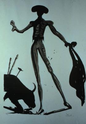 Salvador Dali. Black toreador