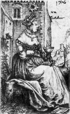 Albrecht Altdorfer. Saint Barbara