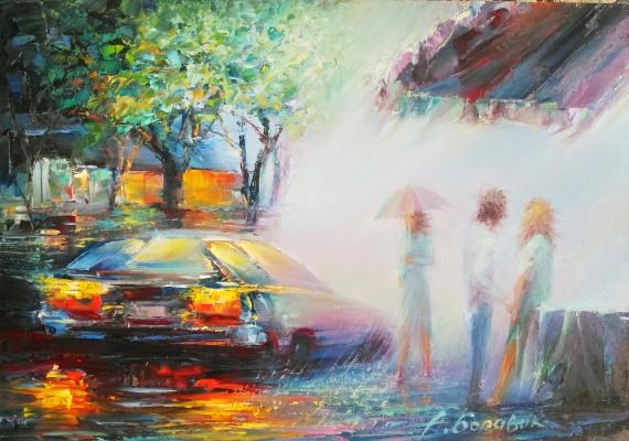 Andrei Ivanovich Boravik. Minsk rains.Weekend
