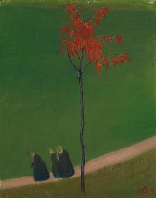 Куно Амье. Красное дерево