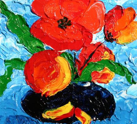 Alexander Ocher Kandinsky-DAE. Poppies