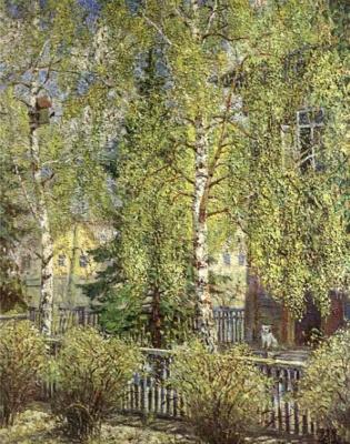 Alexander Mikhailovich Gerasimov. The song of the Starling