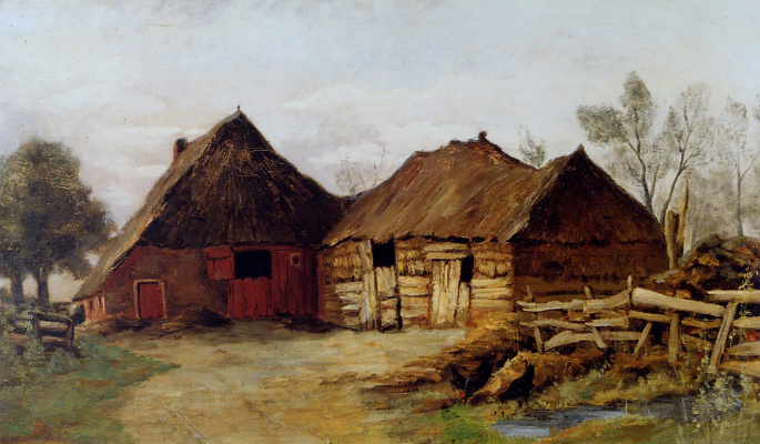 Месдаг ван Калкар. Ферма в Дренте