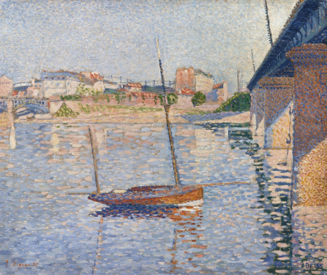 Paul Signac France 1863 - 1935. Clipper. 1887