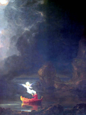Thomas Cole. The voyage of life old age
