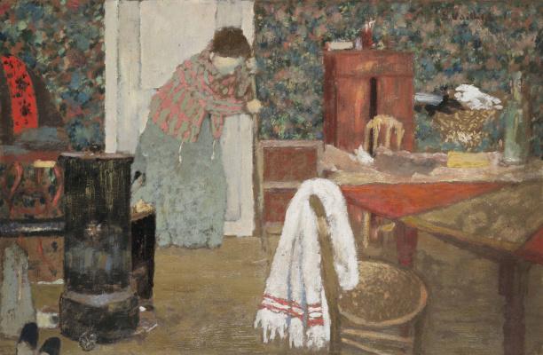 Jean Edouard Vuillard. La balayeuse, 346 rue Saint-Honoré