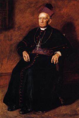 Томас Икинс. Портрет архиепископа Уильяма Генри Элдера