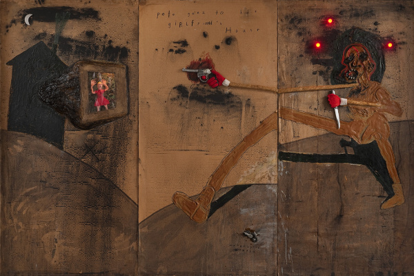 David Keith Lynch. Pete goes into the house of his girlfriend