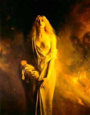 Паскаль Адольф Жан Даньян-Бувре. Мать