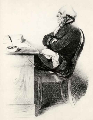 Honore Daumier. At 87 years of age in Emergency court