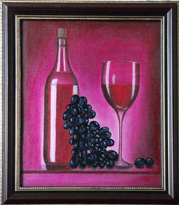 Victor Petrovich Burmin. Still Life with Wine # 11