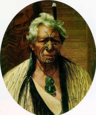 Чарльз Голди. Благородный северный Атама Папаранги