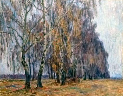 Petr Petrovich Konchalovsky. Belkino. Birch
