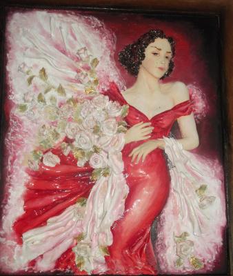 Аурика Кметюк. Дама с розами