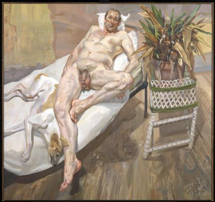 Lucien Freud. David and Eli