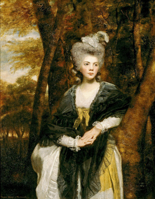 Portrait of lady francis finch