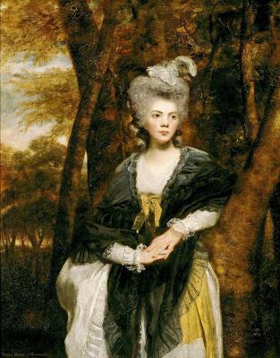 Portrait of lady francis finch