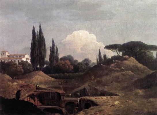 Томас Джонс. Пейзаж