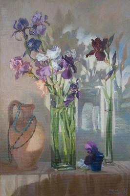 Pavel Gennadievich Dragunov. Irises