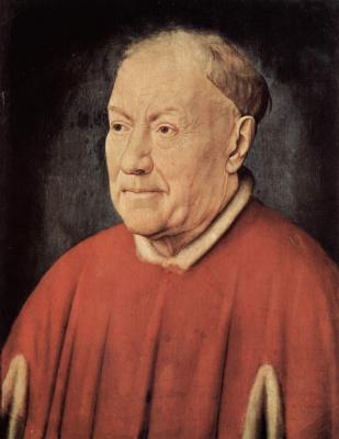 Ян ван Эйк. Портрет кардинала Николаеса Альбергати