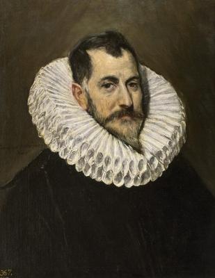 Domenico Theotokopoulos (El Greco). Portrait of a knight