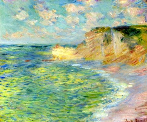Claude Monet. Cliff d Amon