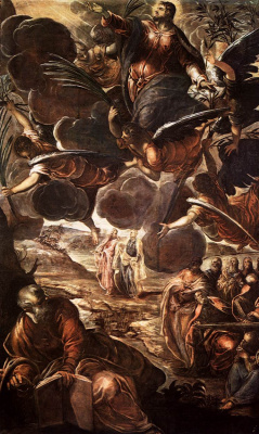 Jacopo Tintoretto. The Ascension