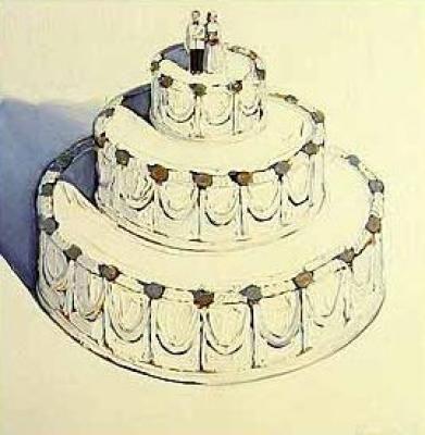 Уэйн Тибо. Свадебный торт