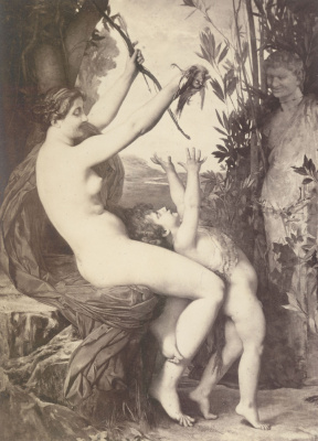 Jules Joseph Lefebvre. Bacchus and the nymph