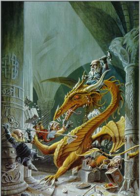 Дэн Фрейзер. Злой дракон