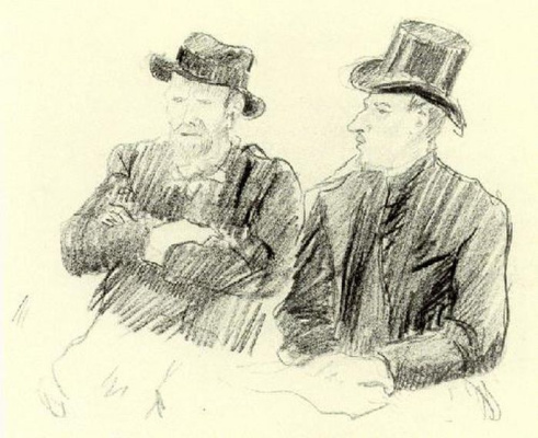 Lucien Pissarro. The Brothers Van Gogh