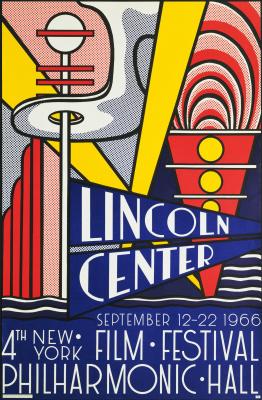 Roy Lichtenstein. Lincoln center