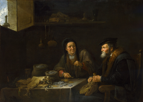 David Teniers the Younger. Covetous