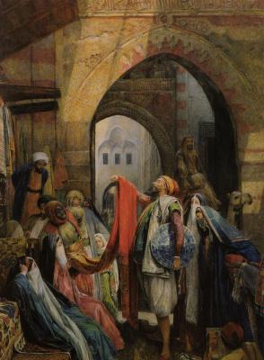 Джон Фредерик Льюис. Каирский базар